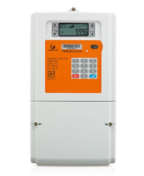three phase integrated meter